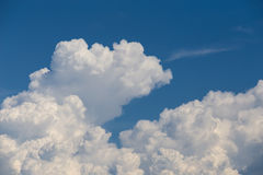 Dense cloud on sky Stock Photography