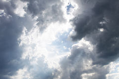 Dense clouds Stock Image