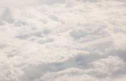 Dense clouds seen from above Stock Photography