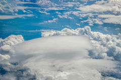 Dense clouds seen from above Royalty Free Stock Images