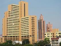 Dense condominium. In Bangkok, Thailand stock photography