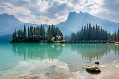 The majestic beauty of the wild in Yoho National Park stock image