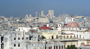 Dense Havana, Cuba Stock Images