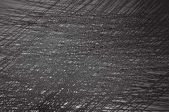 Dense lines abstract background black and white Royalty Free Stock Photography