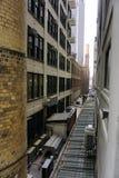 Dense new york city buildings Royalty Free Stock Photo