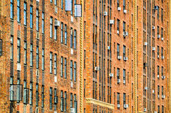 Dense residential area in NYC Royalty Free Stock Images