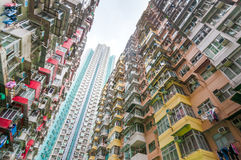 Dense residential building Royalty Free Stock Images