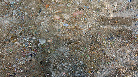 Dense sand with gravel. Dense  wet sand with gravel Royalty Free Stock Image