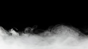 Dense smoke backdrop Royalty Free Stock Photography