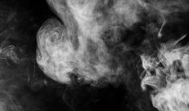 Dense smoke background Stock Photo