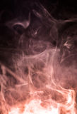 Dense smoke background Stock Photos