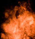 Dense smoke background Stock Photography