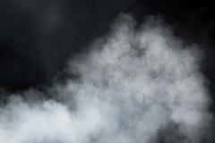 Dense smoke background. Close-up view Stock Photo