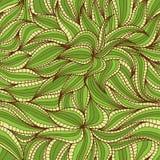 Dense vegetation pattern Royalty Free Stock Image