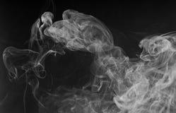 Dense white smoke Royalty Free Stock Images