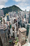 Densely populated hong kong 2. An image of the densely populated hong kong Stock Photography