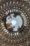 Densensoriska installationen för bikupa i Kew trädgårdar arkivbild
