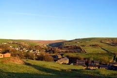 Denshaw village in Saddleworth Stock Photography