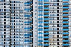 Densidade do prédio de apartamentos Foto de Stock Royalty Free