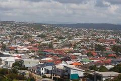 Densità suburbana dell'alloggio a Newcastle, NSW, Australia Fotografie Stock Libere da Diritti