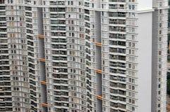 densité d'appartements haut residental Images libres de droits