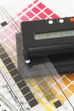 densitometer royaltyfri foto