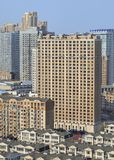 Density of living in the city center of Dalian, China. Density of living in the city center of Dalian, Liaoning Province, China stock image