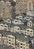 Density of living in the city center of Dalian, China. Density of living in the city center of Dalian, Liaoning Province, China stock photo