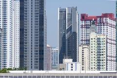 Density residential building vision blocked environment. In Bangkok, Thailand stock photo