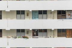 Denso esteriore del complesso condominiale di HDB a Singapore Fotografie Stock Libere da Diritti