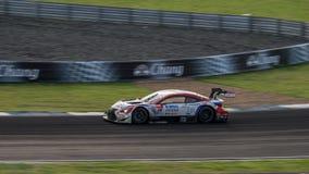 DENSO KOBELCO SARD RC F de LEXUS TEAM SARD dans les courses GT500 au bureau Images stock