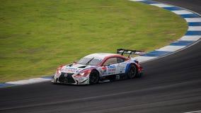 DENSO KOBELCO SARD RC F of LEXUS TEAM SARD in GT500 Races at Bur Royalty Free Stock Images