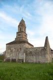 Densus - очень старая каменная церковь в Трансильвании, Румынии Стоковые Фотографии RF