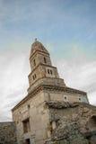 Densus - очень старая каменная церковь в Трансильвании, Румынии Стоковые Фото