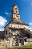 罗马尼亚- Densus教会 库存图片