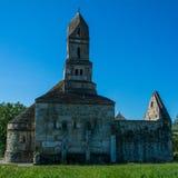 Densus Christian Church & x28; São Nicolau & x27; Igreja & x29; , Hunedoara, Romênia Imagem de Stock