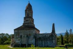 Densus Christian Church & x28; São Nicolau & x27; Igreja & x29; , Hunedoara, Romênia Imagem de Stock Royalty Free