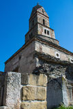 Densus Christian Church & x28; São Nicolau & x27; Igreja & x29; , Hunedoara, Romênia Fotografia de Stock Royalty Free