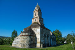 Densus Christian Church (Saint Nicholas' Church ), Hunedoara, Romania Royalty Free Stock Photography