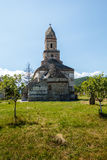 Densus Stone Church. Old stone church from Densus, Hunedoara county Royalty Free Stock Images