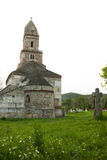 Densus - Very old stone church in Transylvania, Romania. Stock Images