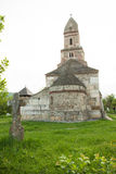 Densus - Very old stone church in Transylvania, Romania Stock Image