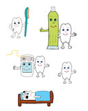 Dent Illustration Stock