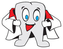 Dent. Cartoon Tooth dental clip art Royalty Free Stock Photos