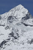 Dent Blanche. The Dent Blanche (white tooth) in the swiss alps above Zermatt Stock Photo