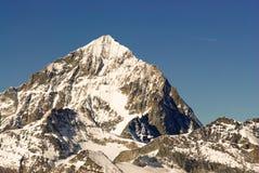 Dent Blanche. (4357m) mountain peak. View from Gornergrat, Zermatt, Switzerland Royalty Free Stock Images
