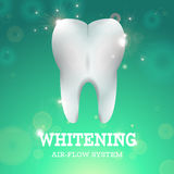 Dent blanchissant 1 illustration stock