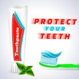 Dent blanchissant 1 Photos stock