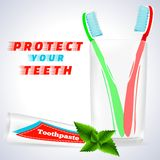 Dent blanchissant 1 Images stock