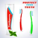 Dent blanchissant 1 Photo stock